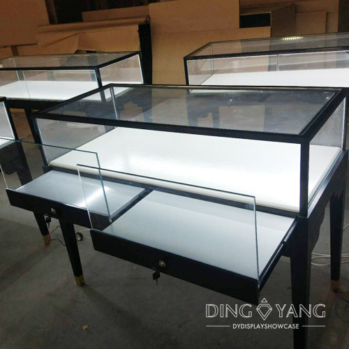 Simplicity Jewelry Glass Display Cases For sale
