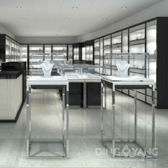 Luxurious Jewelry store Display Cases