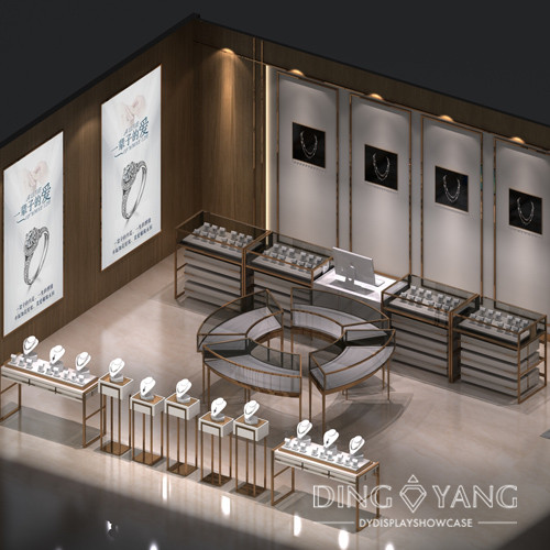 Modern High End Jewelry Store Interior Design And Factory Custom Service