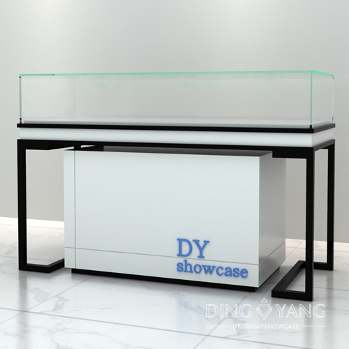 Contemporary Glass Jewelry Display Case