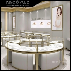 Gold Jewellery Display Counter