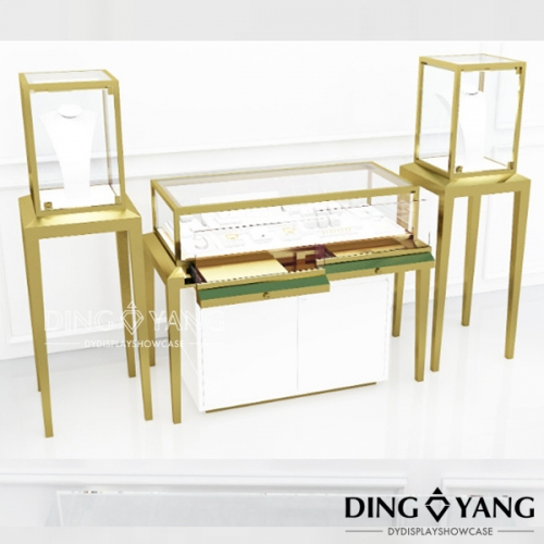 Brass Jewelry Display Counter